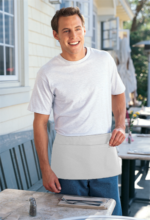 Augusta Twill Fabric 65/35 Poly/Cotton Twill Waist Apron